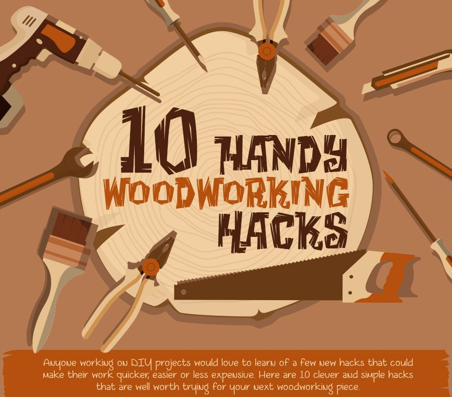 10 handy hacks when working with timber!