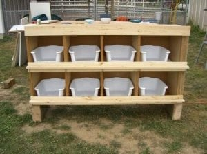 Build Your Own Chicken Nesting Box