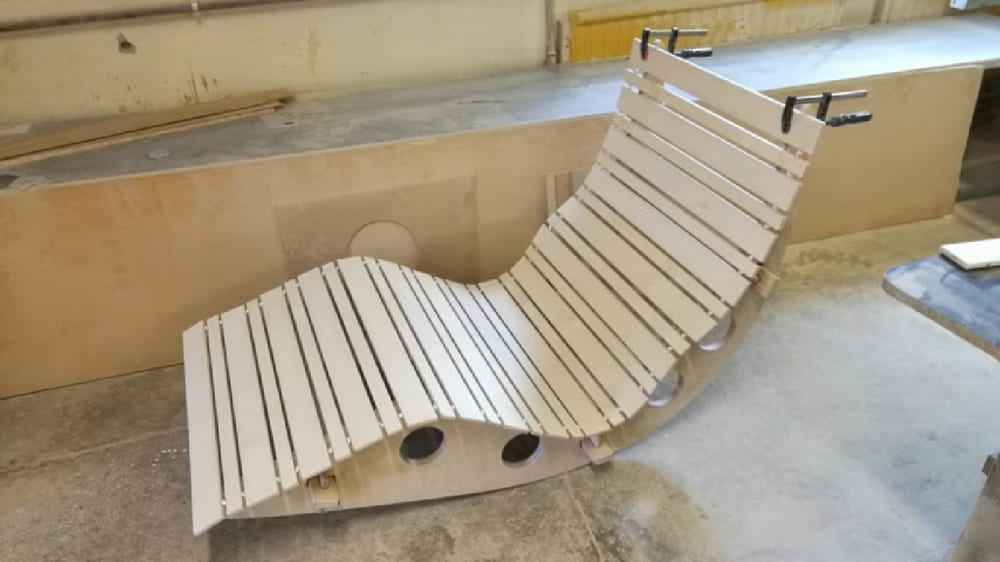 Making a garden rocking chair is a wonderful project to take on especially if you have woodworking skills.